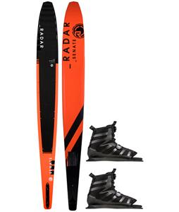Radar Graphite Senate Slalom Ski w/ Vector BOA Bindings