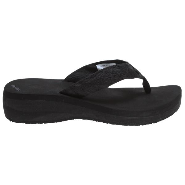 Rafters Breeze Wedge Sandals Black U.S.A. & Canada