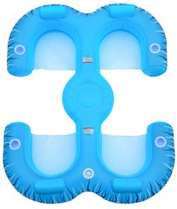 Rave Paradise Lounge Pool Float