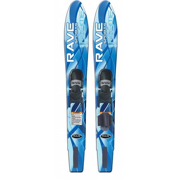 Rave Rhyme Adult Wide Combo Water Skis 164 U.S.A. & Canada