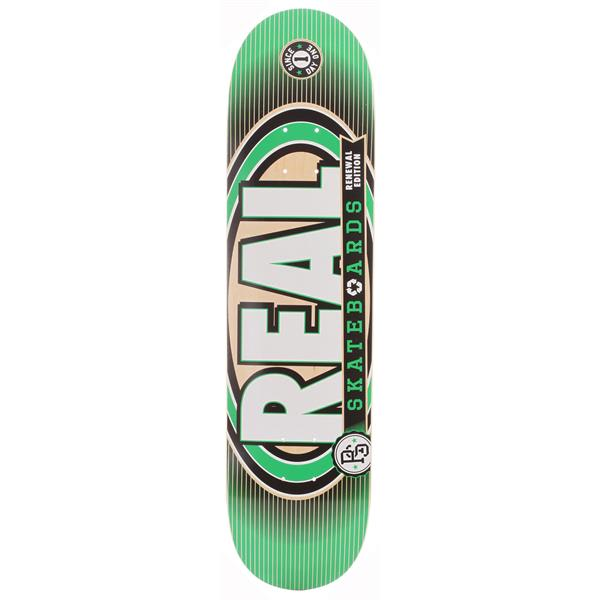 "Real Renewal Iv Med Skateboard Green 7 75"" U.S.A. & Canada"