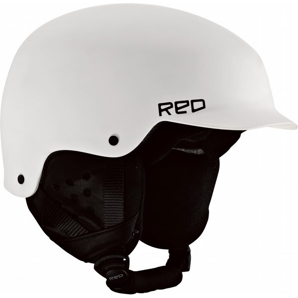 Red Mutiny Snowboard Helmet White U.S.A. & Canada