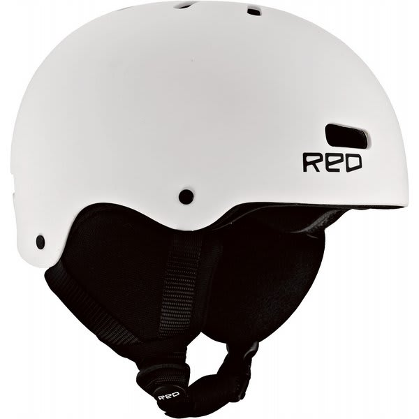 Red Trace Grom Snowboard Helmet White U.S.A. & Canada