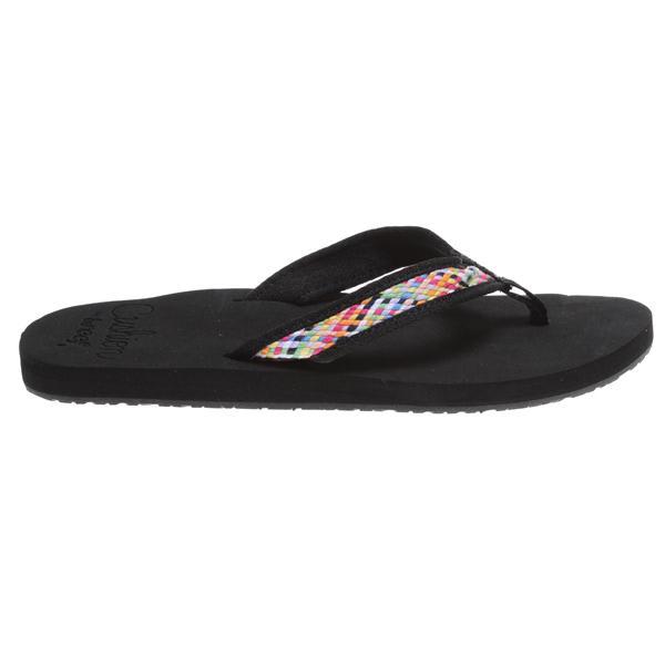 Reef Braided Cushion Sandals Black / Multi U.S.A. & Canada