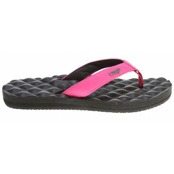 Reef Dreams Sandals Black / Hot Pink U.S.A. & Canada