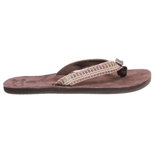 Reef Gypsy Love Sandals Brown / Pink U.S.A. & Canada