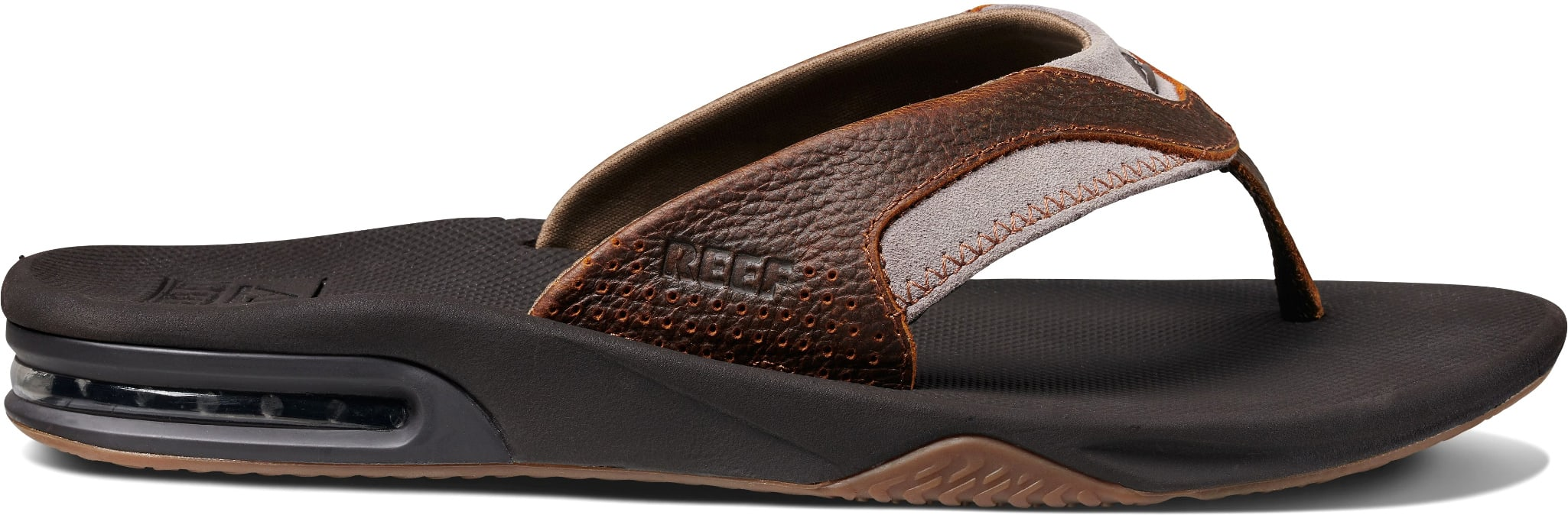Reef Leather Fanning Sandals 2019-3803