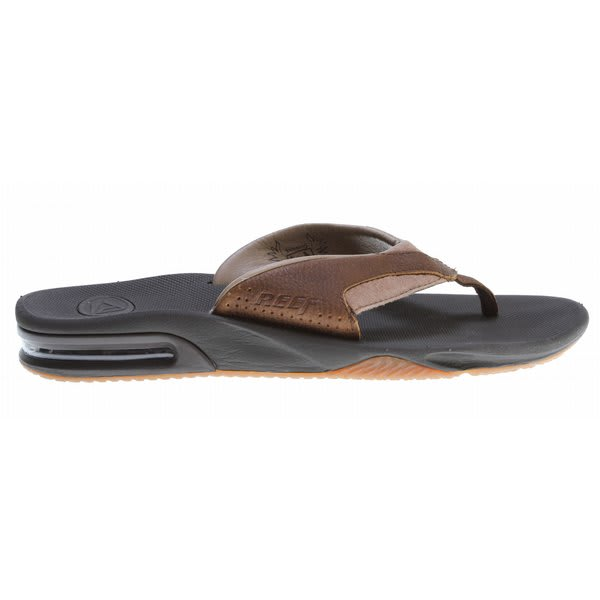 Reef Leather Fanning Sandals Brown / Brown U.S.A. & Canada