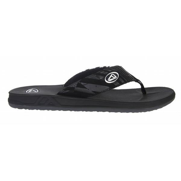 Reef Phantom Sandals Black / White U.S.A. & Canada
