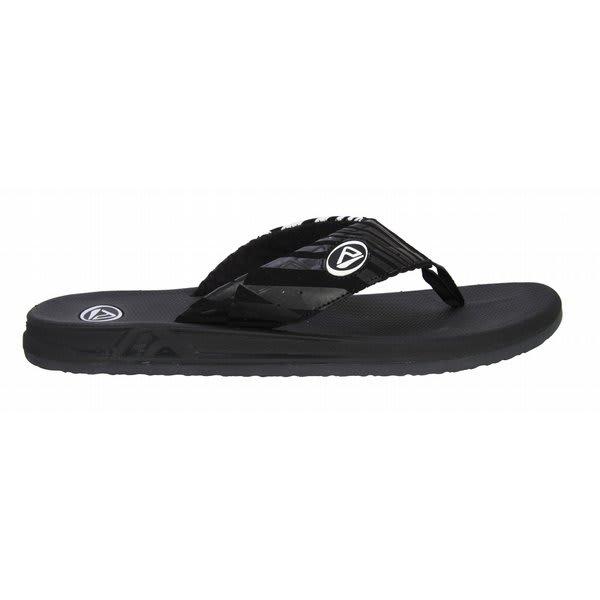 Reef Phantoms Prints Sandals Black / White U.S.A. & Canada