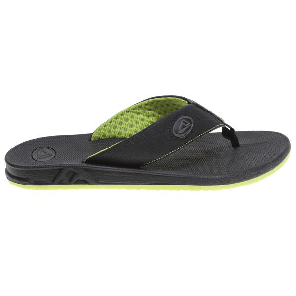 Reef Phantoms Sandals Black / Lime Green U.S.A. & Canada