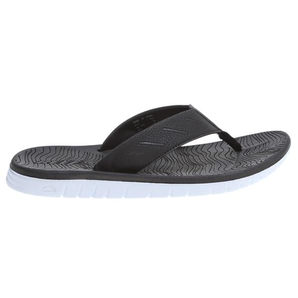 Reef Rodeoflip Sandals Black / White U.S.A. & Canada