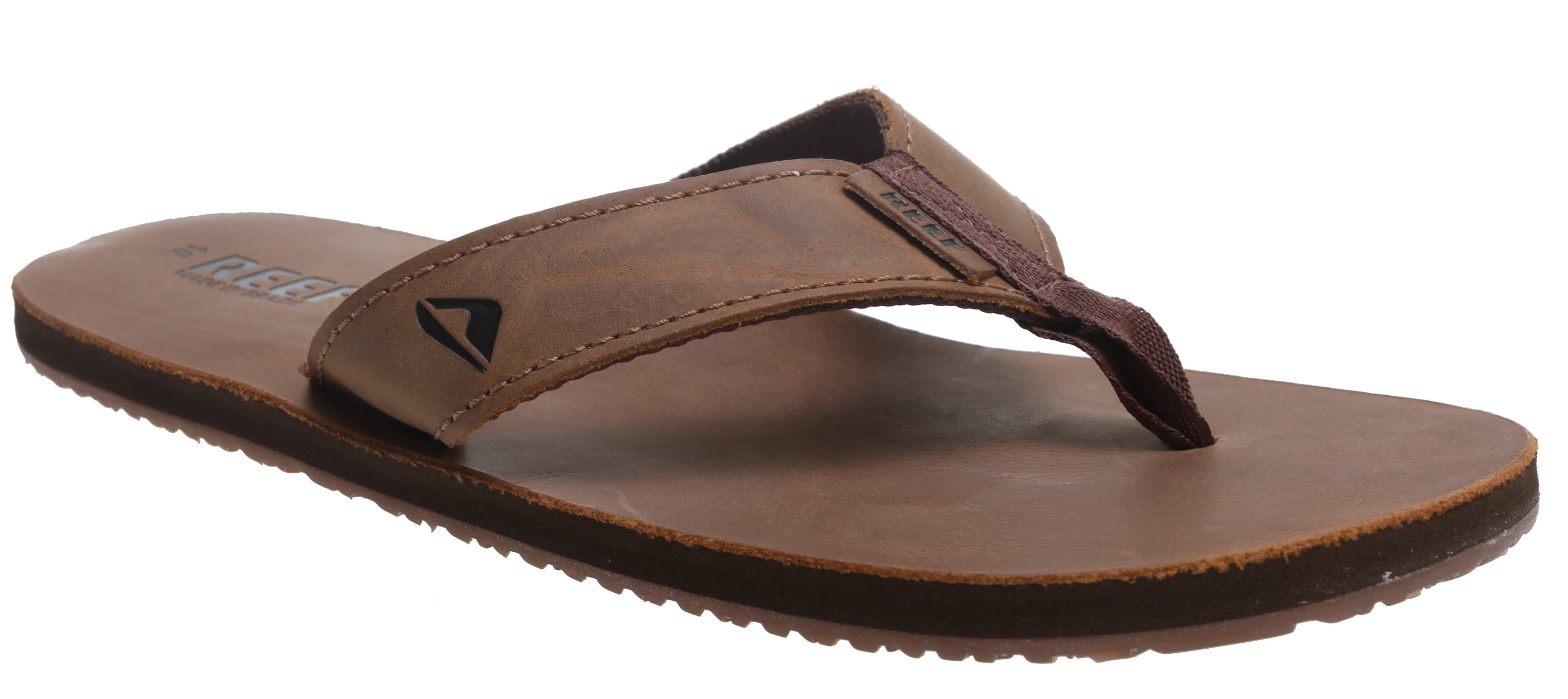 db1542ebc5cd Reef Leather Smoothy Sandals - thumbnail 2