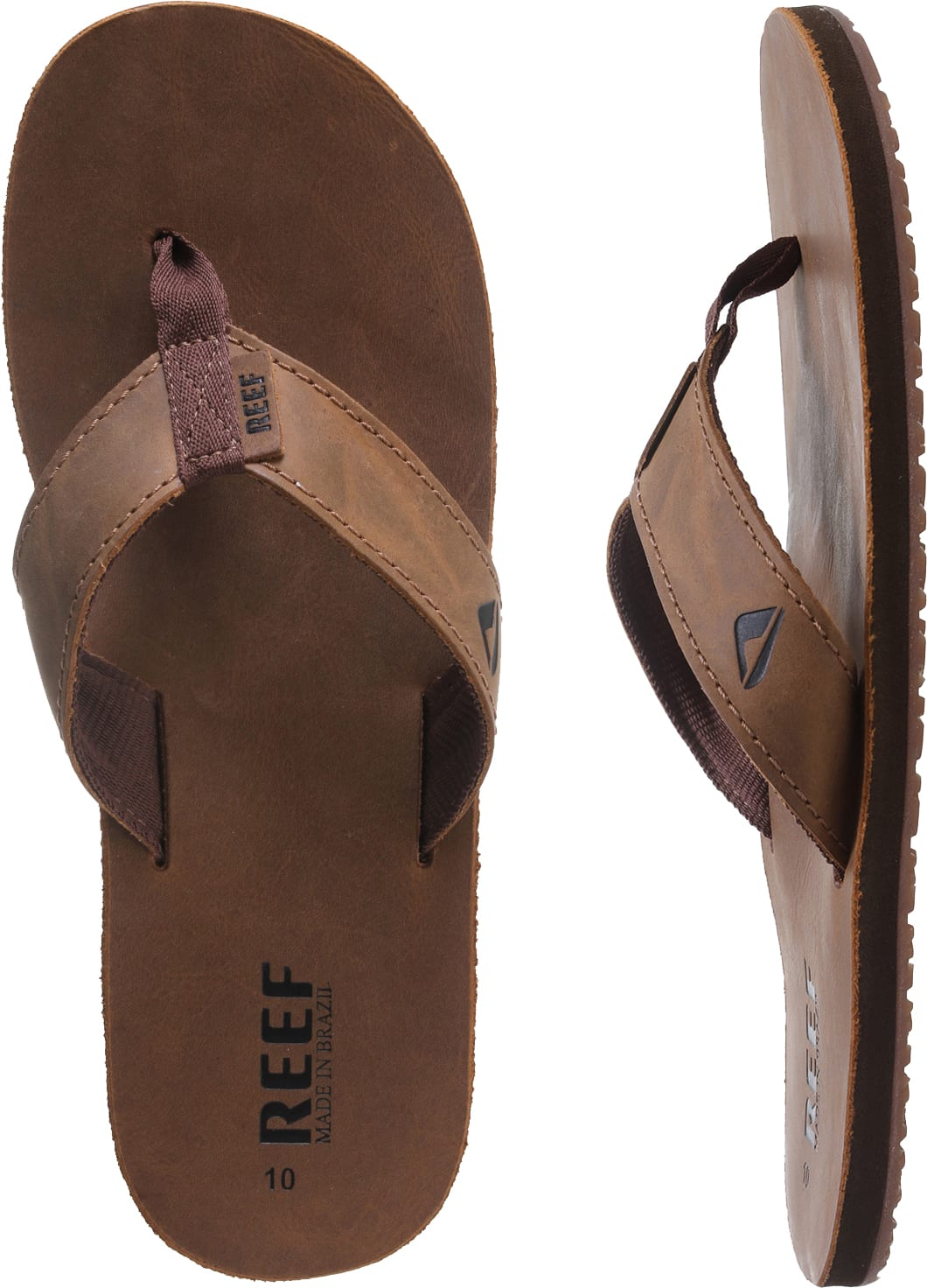 cf6c9f464f4a Reef Leather Smoothy Sandals - thumbnail 1