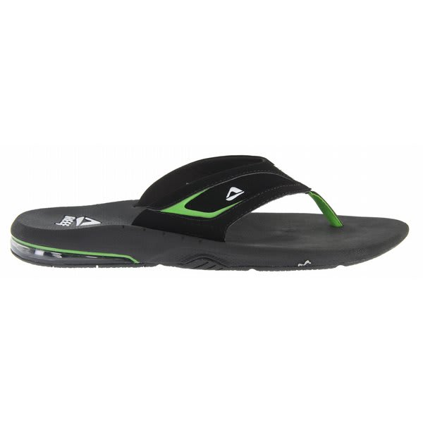Reef Springtide Sandals Black / Green U.S.A. & Canada