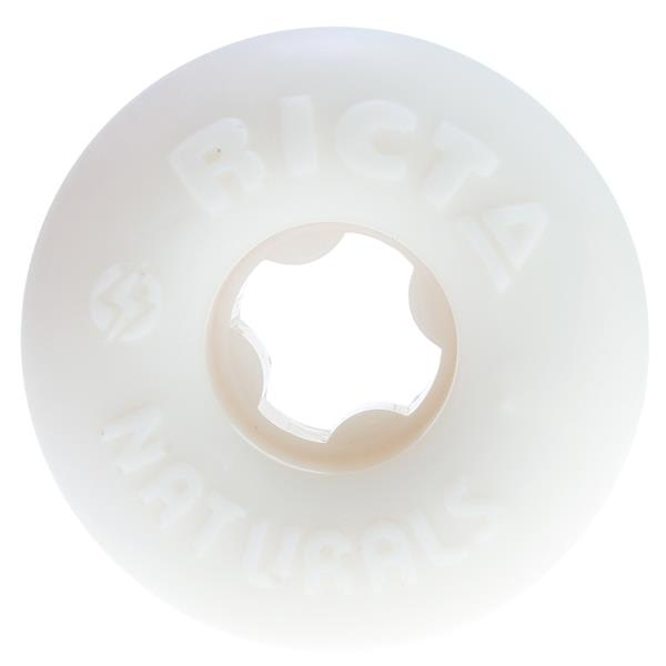 Ricta Natural 81B Skateboard Wheels White 50Mm U.S.A. & Canada