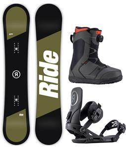 Ride Agenda Snowboard Package
