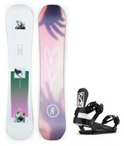 Ride Back Talk Snowboard w/ AL-6 Bindings