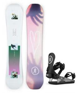 Ride Back Talk Snowboard w/ CL-4 Bindings