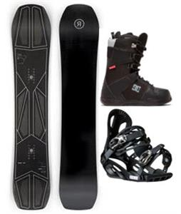 Ride Commissioner Snowboard Package