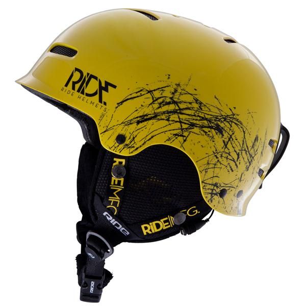 Ride Duster Helmet Yellow U.S.A. & Canada