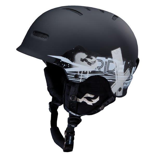 Ride Gonzo Snowboard Helmet Black U.S.A. & Canada