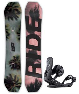Ride Helix Snowboard w/ Capo Bindings