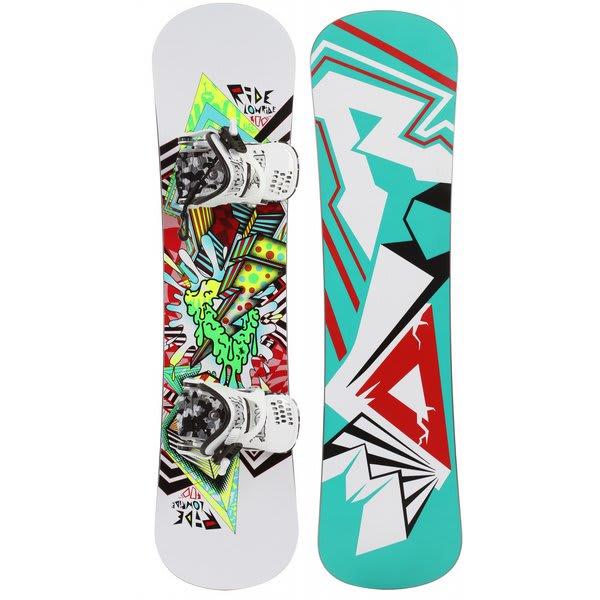 Ride Lowride Snowboard 120 W / Micro Bindings U.S.A. & Canada