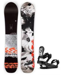 Ride Magic Stick Snowboard w/ AL-6 Bindings