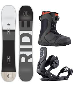 Ride Manic Snowboard Package