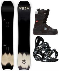 Ride MTNPIG Snowboard Package
