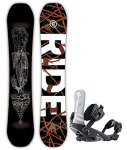 Ride Wild Life Snowboard w/ LTD Bindings