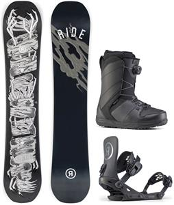 Ride Wildlife Snowboard Package