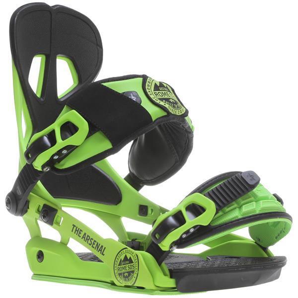 Rome Arsenal Snowboard Bindings Green U.S.A. & Canada