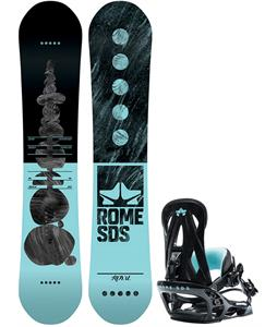Rome Royal Snowboard w/ Shift Bindings