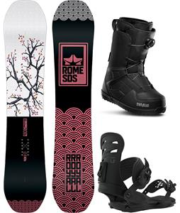 Rome Royal Snowboard Package