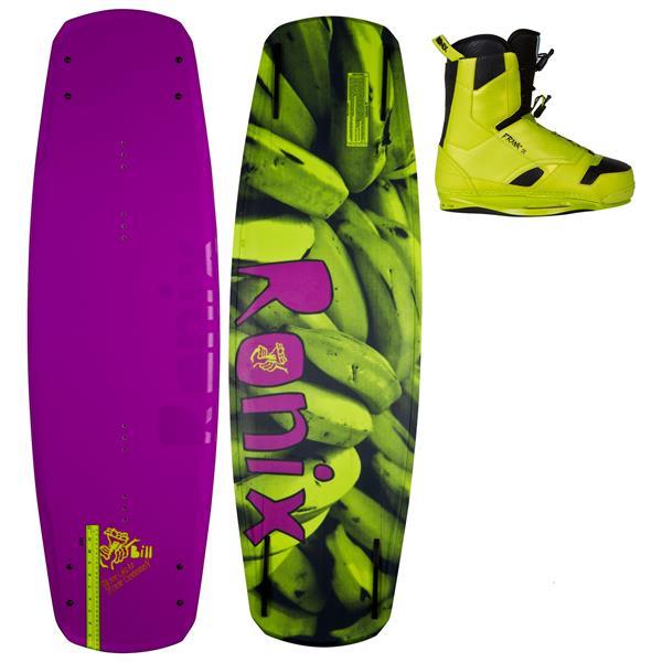 Ronix Bill Wakeboard 140 W / Frank Boots U.S.A. & Canada