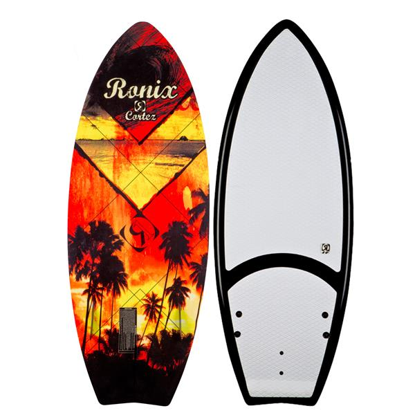 Ronix Cortez Wakesurfer Molokai Sunset / Black 4Ft 8In U.S.A. & Canada
