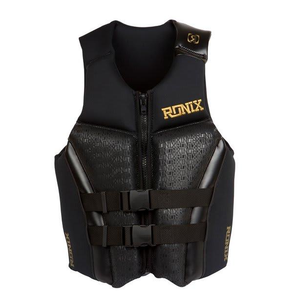Ronix Covert Cga Wakeboard Vest Black / Gold U.S.A. & Canada