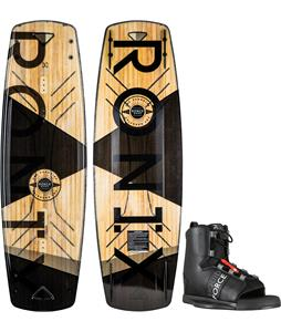 Ronix Darkside Intelligent 2 Wakeboard w/ Liquid Force Element Bindings