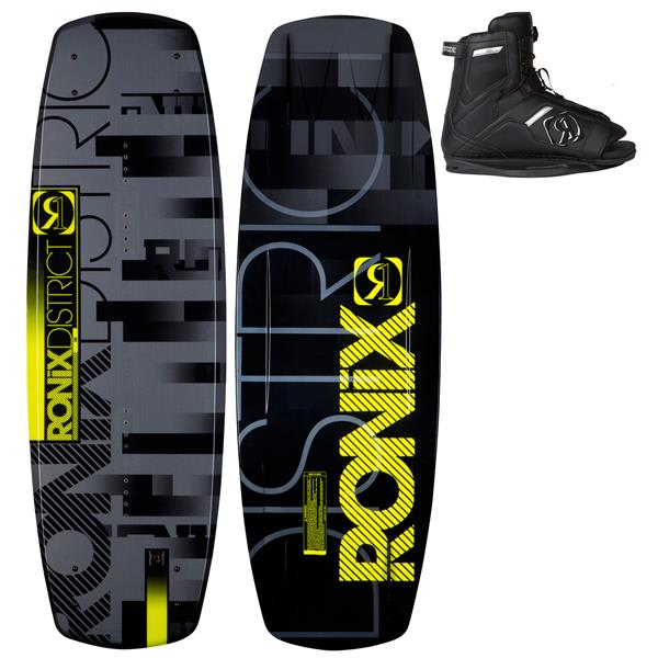 Ronix District Wakeboard 138 W / Divide Boots U.S.A. & Canada