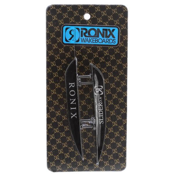 Ronix Fiberglass Slider (2 Pack) Fins Black 8In U.S.A. & Canada