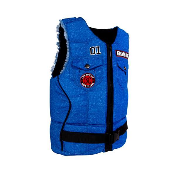 Ronix Hazzard County Wakeboard Vest Denim U.S.A. & Canada