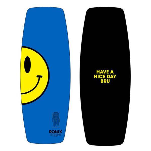 Ronix Hoverboard Wakeskate Zip A Dee Doo Blue / Happy Yellow 42In U.S.A. & Canada
