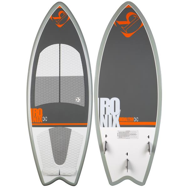 Ronix oal Fish Blem Wakesurfer Julious Orange / Oliver Silver 4Ft 6In U.S.A. & Canada