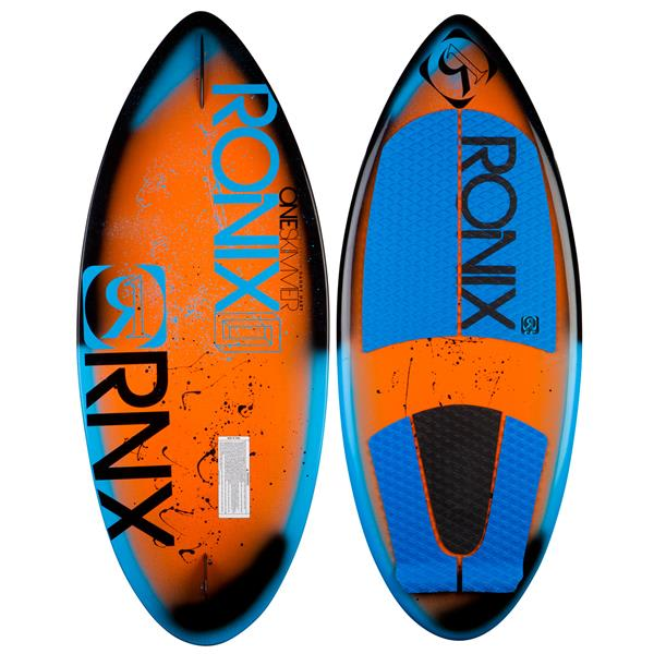 Ronix One Skimmer Wakesurfer Caffeinated / Azure / Black Spray 4Ft 10In U.S.A. & Canada