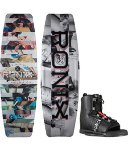 Ronix Press Play ATR S Wakeboard w/ Liquid Force Element Bindings