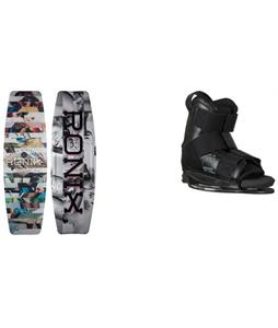 Ronix Press Play ATR S Wakeboard w/ CTRL Imperial Bindings