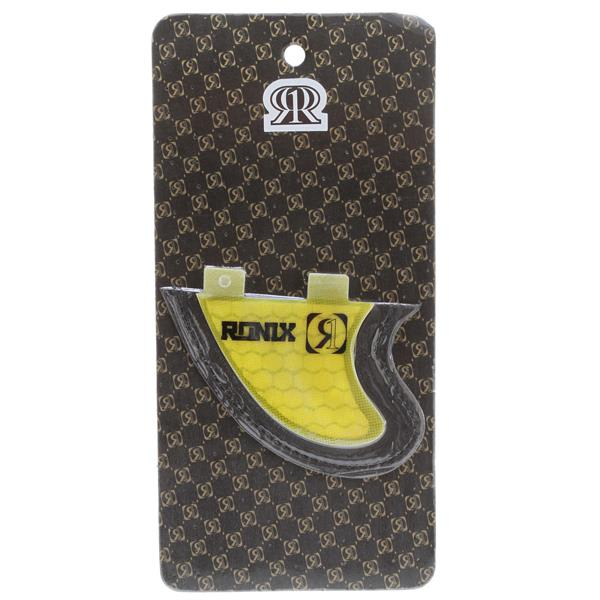Ronix Slayter Fiberglass Bottom Mount Surf Fin Yellow 2 9In U.S.A. & Canada