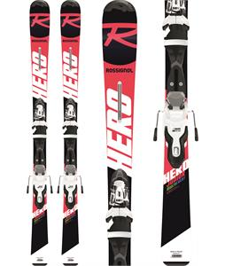 Rossignol Hero Jr Skis w/ Xpress Jr 7 Bindings